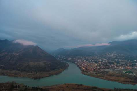 The iconic, oft-blogged view over Mtskheta.