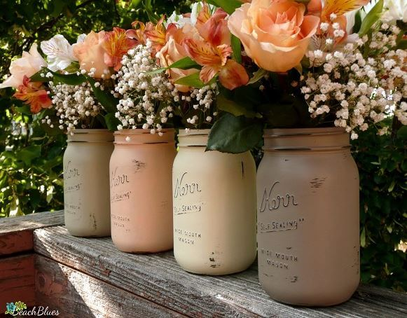 The mason jars at your wedding are basic, by the way.