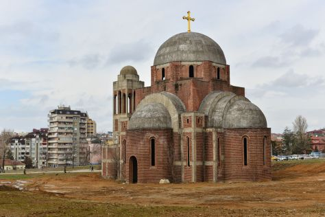 Christ the Saviour Cathedral in Pristina