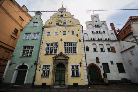 The Three Brothers, Riga, Latvia