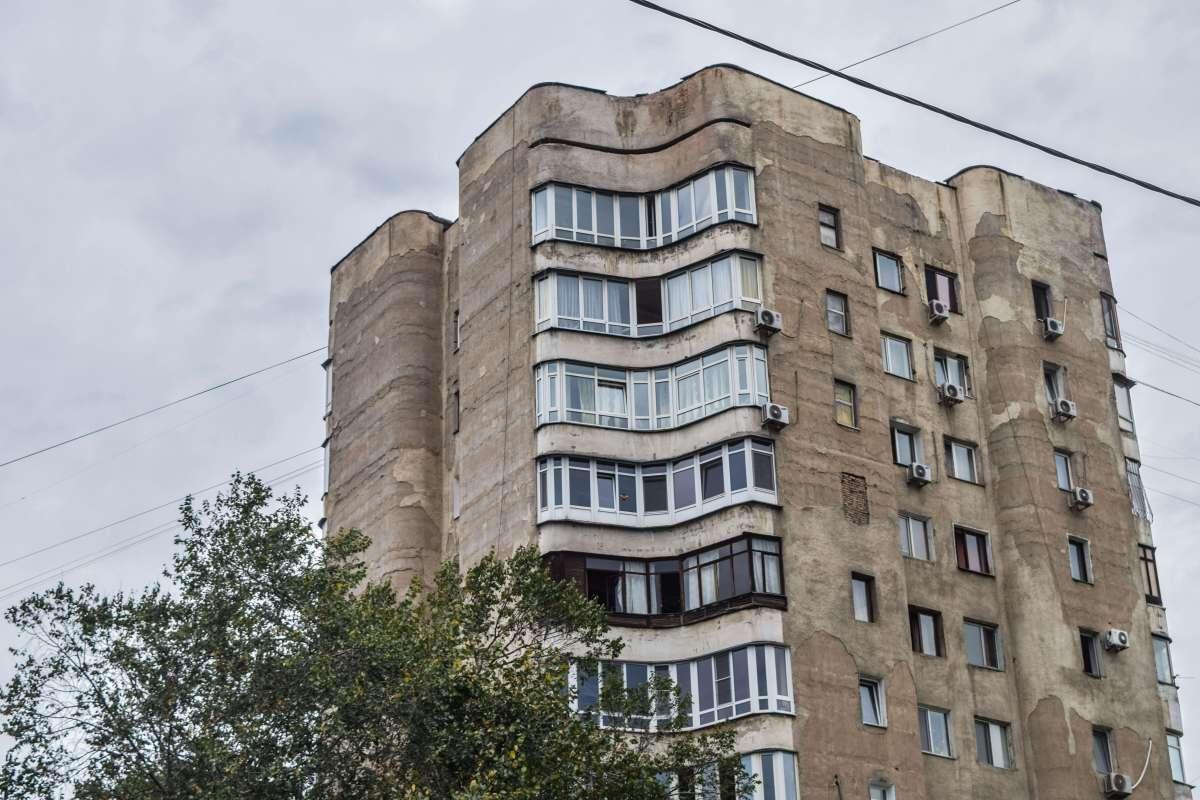Almaty, Kazakhstan, Dressed in Resplendent Concrete