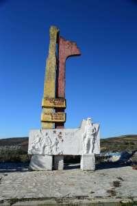 Albania road trip communist monument