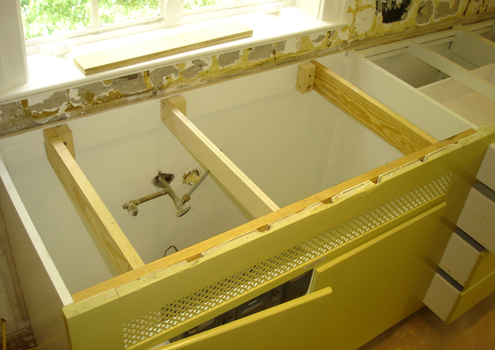 how to install undermount kitchen sinks