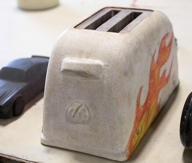 Buddy Rhodes Concrete Car Derby Toaster Derby Car