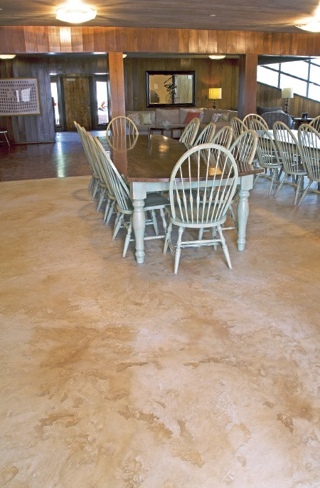 self leveling concrete can save both