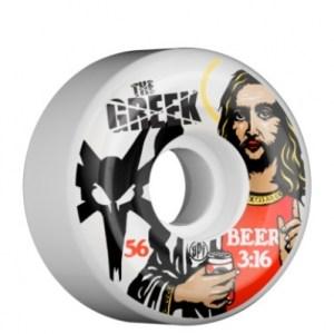 Bones Wheels - Jimmy the Greek Beer Jesus