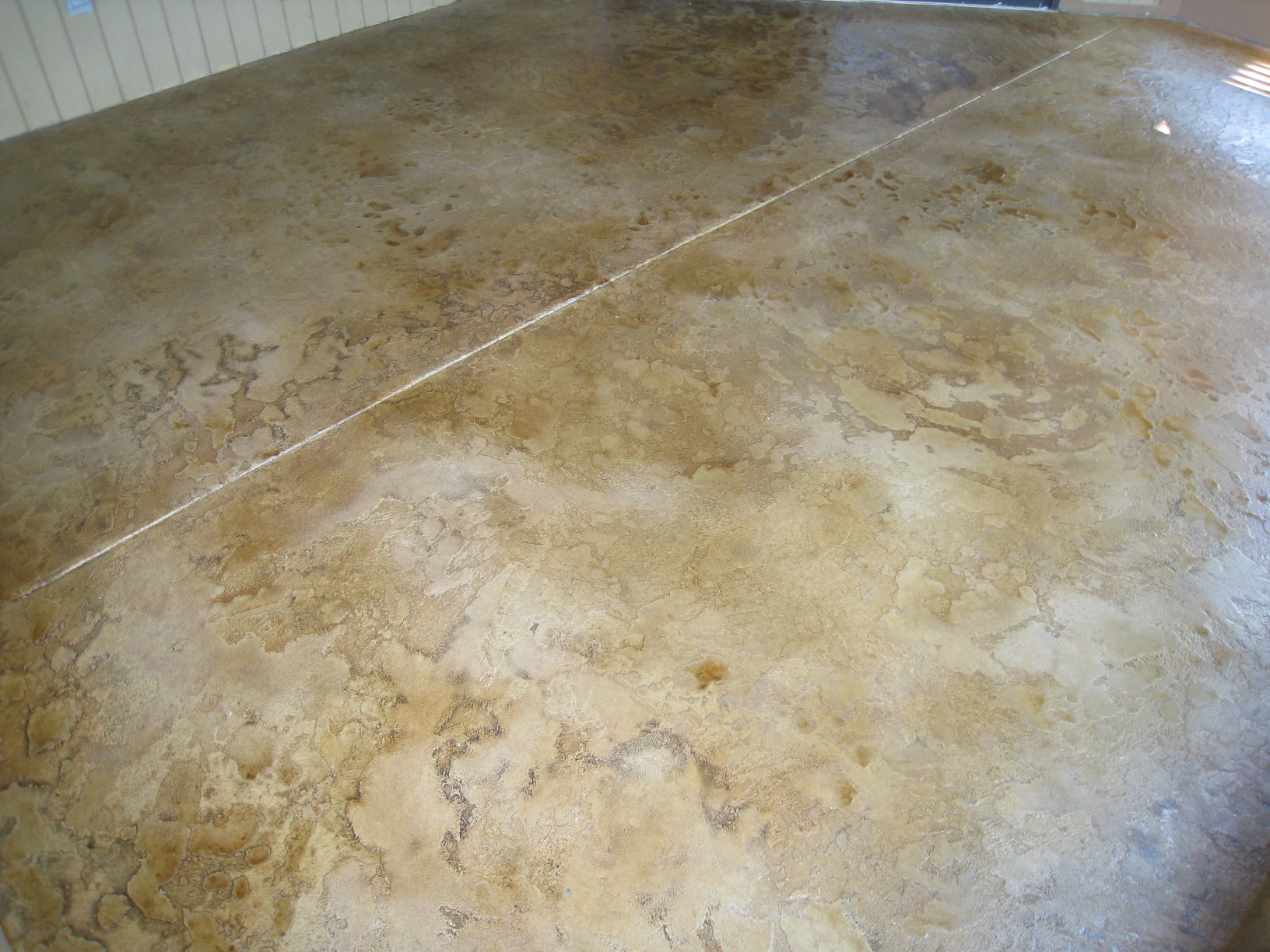 Stamped Stained Concrete Floors : Lake of the ozarks decorative concrete flooring stamped