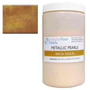 gold metallic epoxy pigment
