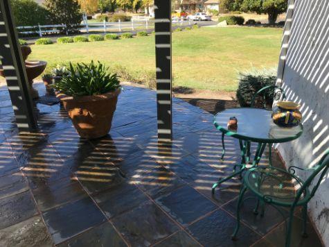 flagstone patio stone masonry patio