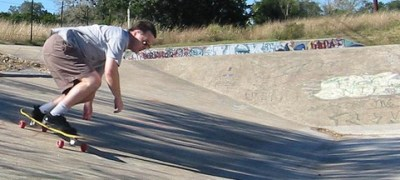 Old longboarding pic...hey -- I don't have than many.