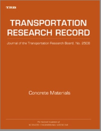 "Publication: TRB's ""Transportation Research Record: Journal of the Transportation Research Board Concrete Materials, 2015"""