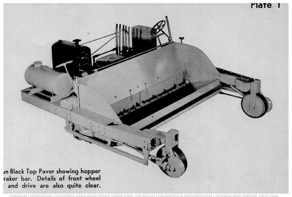 A 100-Year History of Paving, Compaction, Milling Iron