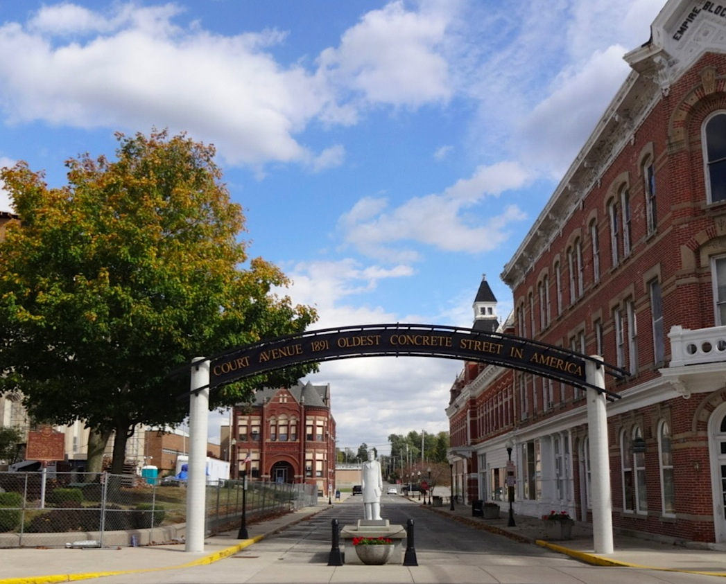 125th Anniversary Commemoration & Tour of First U.S. Concrete Street Held in Bellefontaine, Ohio (Audio & Video)