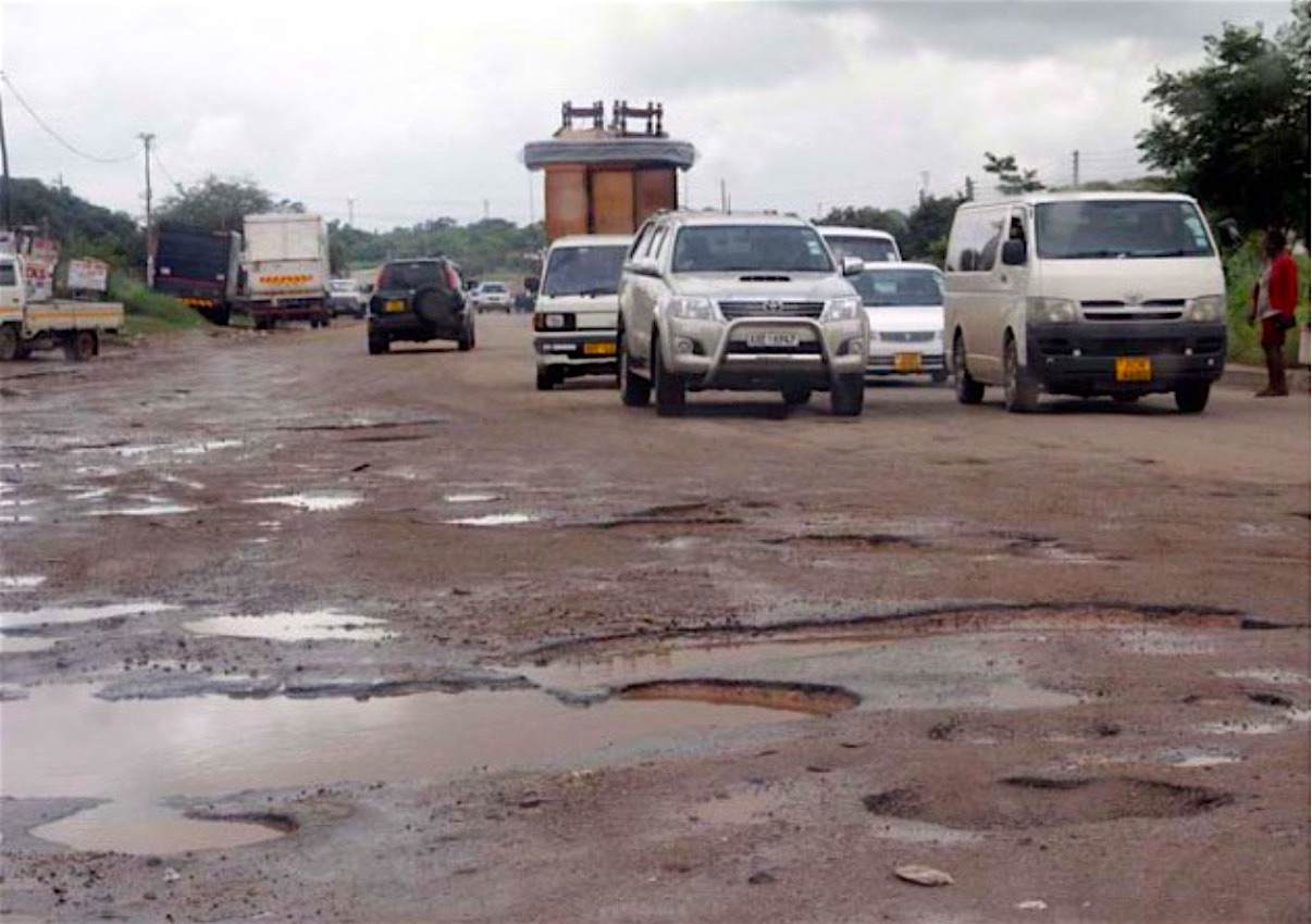 Zimbabwe, Africa—Urgent Need for Concrete Paving for its Crumbling Road Infrastructure