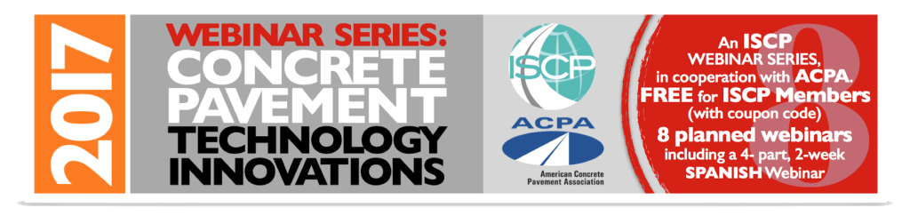 Webinars international society for concrete pavements view the iscp webinar series flier fandeluxe Gallery