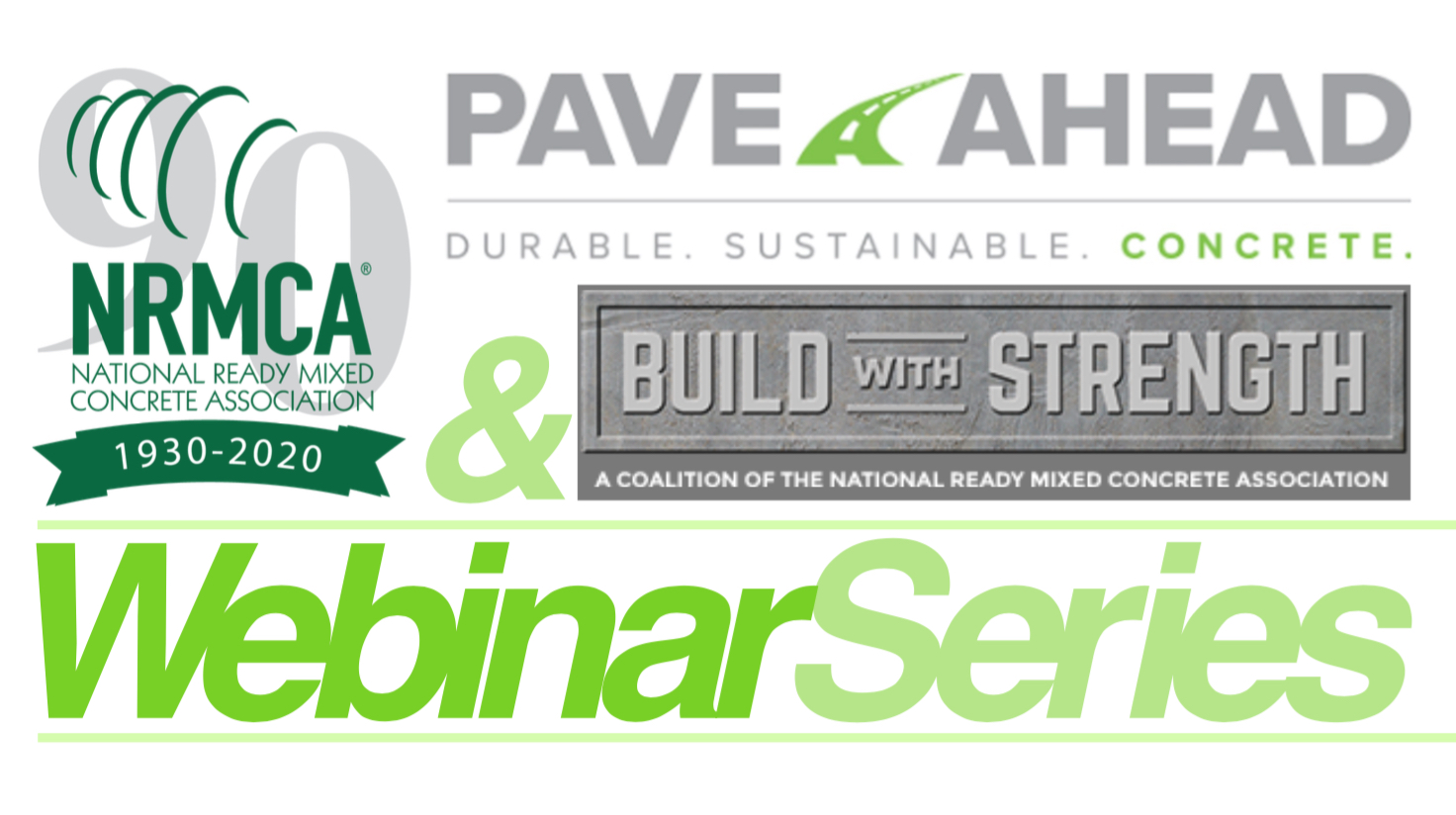Nrcma Series Of Concrete Paving Webinars 11 To Be Held April May International Society For Concrete Pavements