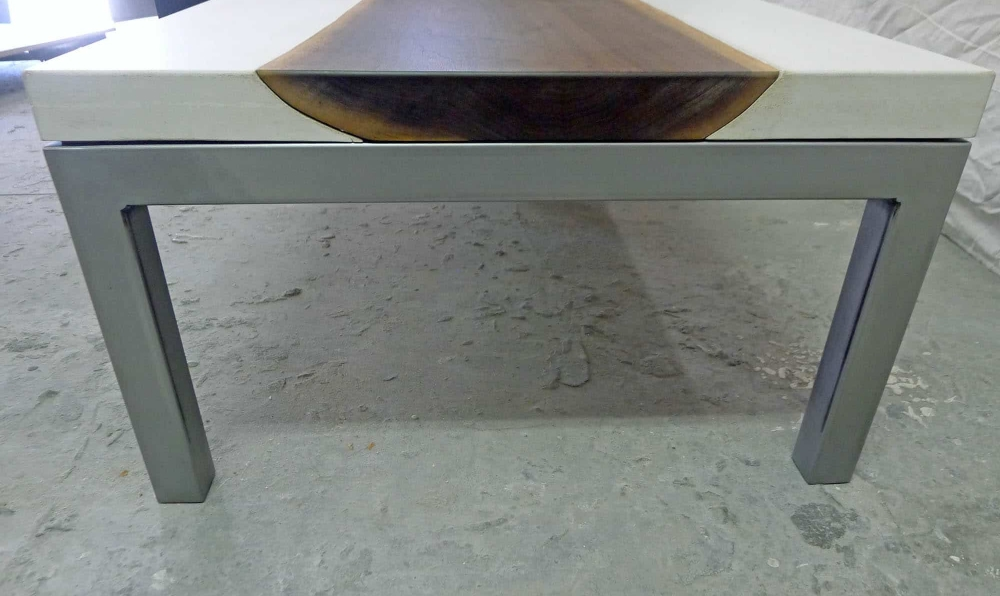 White Square Coffee Table