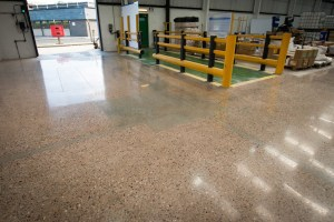 Polished Concrete Warehouse Floor