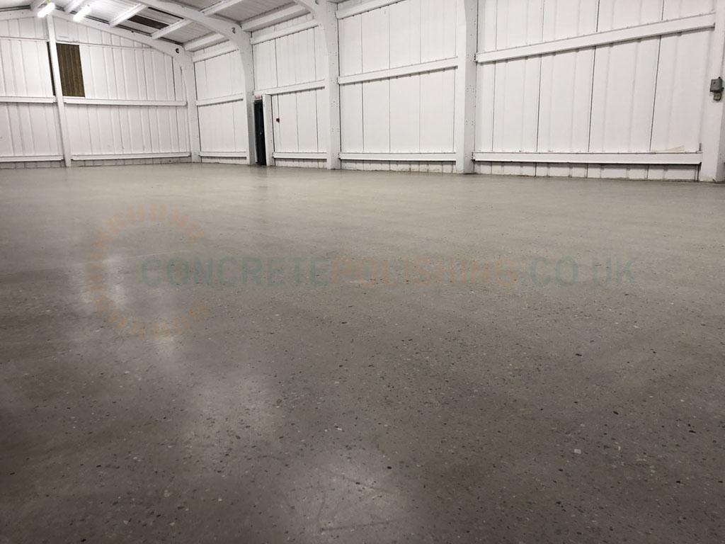 Polished Concrete Small Warehouse