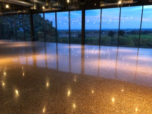 Award Winning Polished Concrete Restaurant