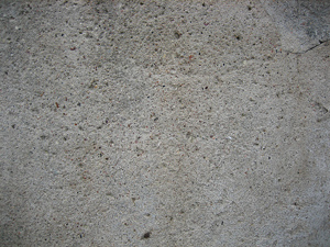 Open Pores on Concrete Floor