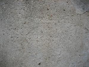 Open Pores on Concrete Floor