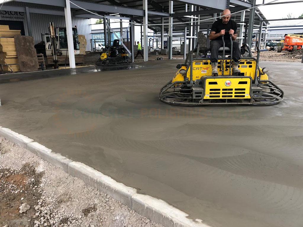 Concrete Polishing Warehouse