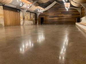 polished concrete floor gloucestershire