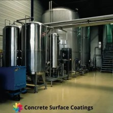industrial floor coatings around chemical storage tanks