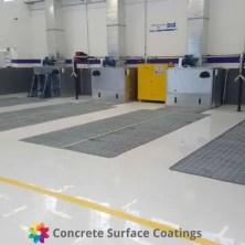 csc car repair shop epoxy floor