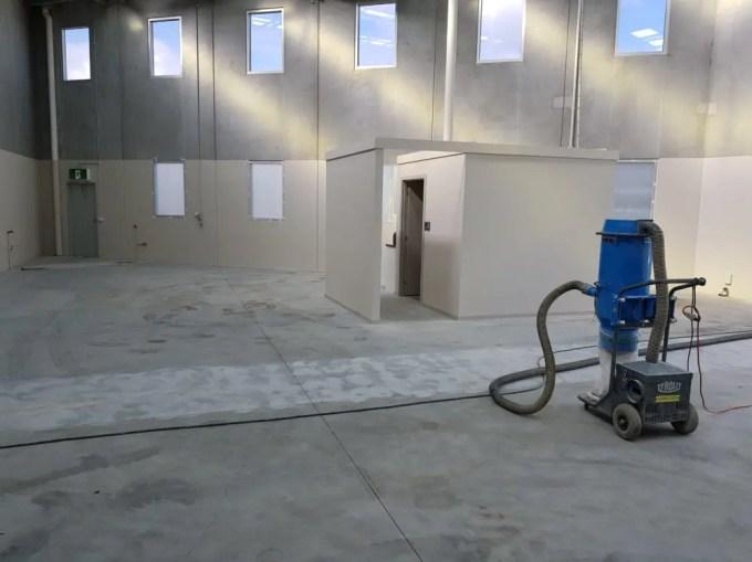 Oakleigh Warehouse Epoxy Floor Coating 2