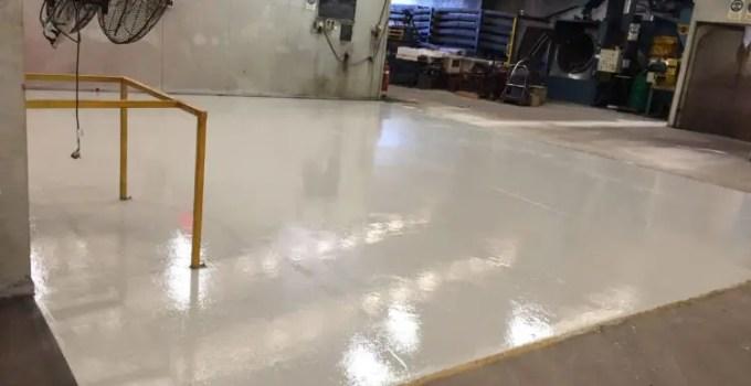 Keysborough Manufacturing Plant - Heavy Duty Epoxy Floor Coating 1