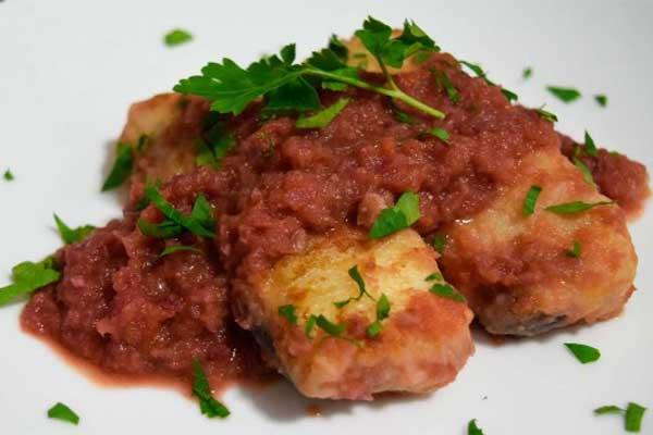 Merluza en salsa de sidra – receta