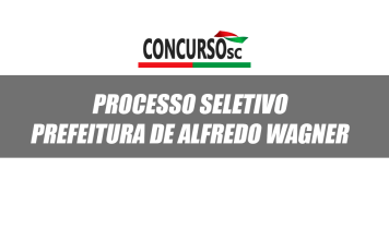 Processo seletivo Alfredo Wagner 2018