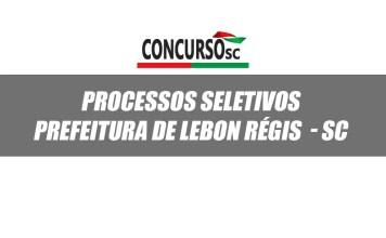 Processo seletivo prefeitua de lebon regis