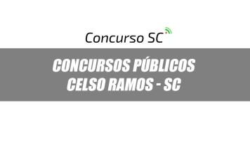 Concursos Públicos Prefeitura de Celso Ramos - SC