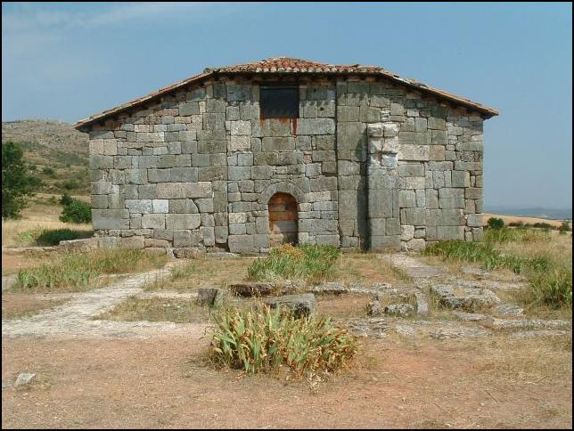 Ermita visigoda de Quintanilla de las Viñas