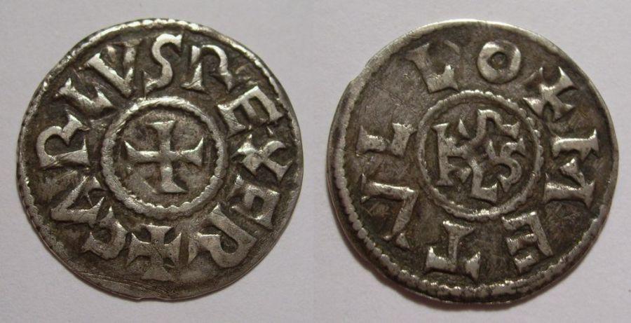 Sólidos de plata carolingio. Época de Carlos II, el Calvo