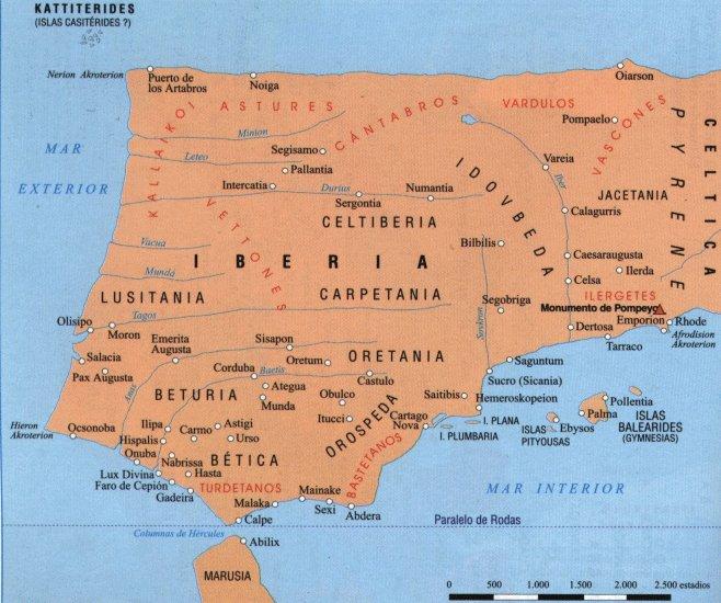 Hispania según Estrabón