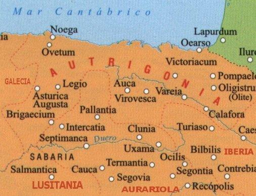 Las provincias visigodas en el norte