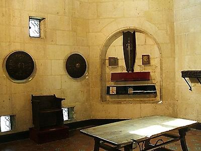 Sala de Poridad en el Arco de Santa María de Burgos