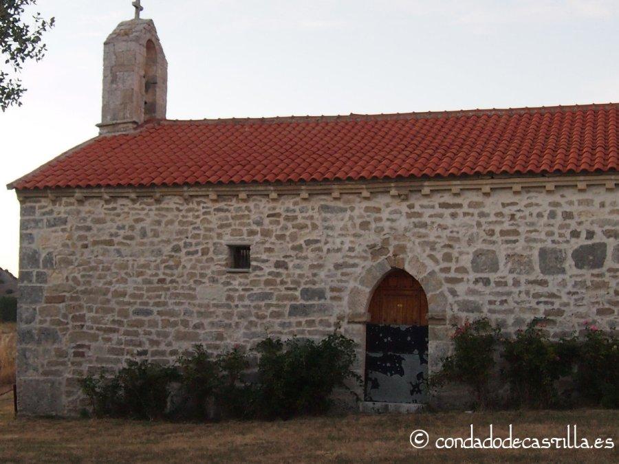 Nave de la ermita de Montesclaros de Ubierna