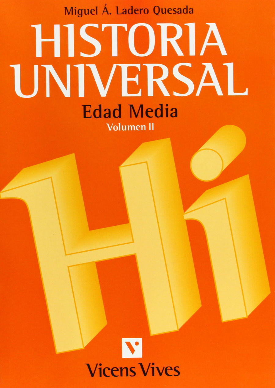 Historia Universal Edad Media Book Cover