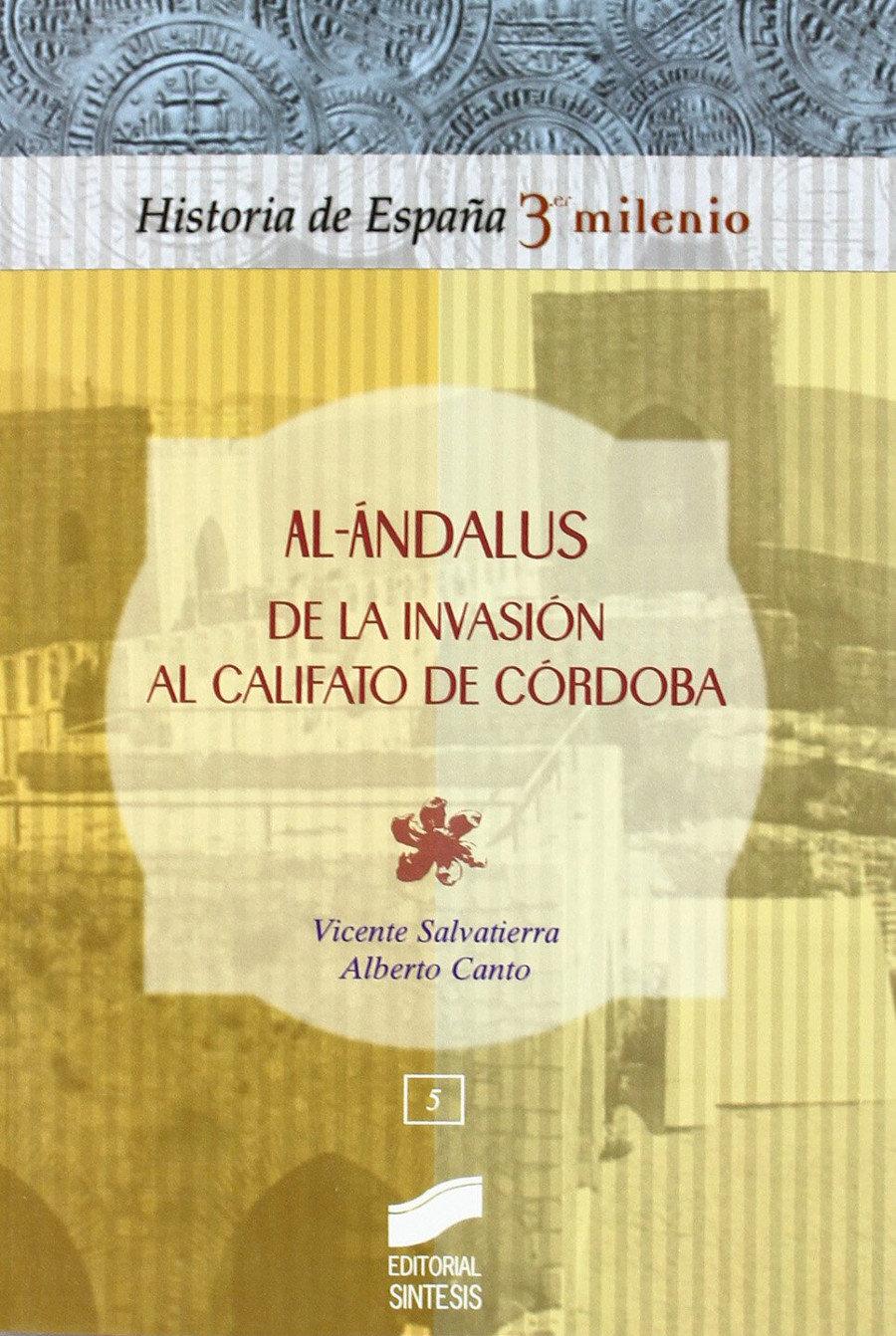 Al-andalus de la invasion al califato de Córdoba Book Cover