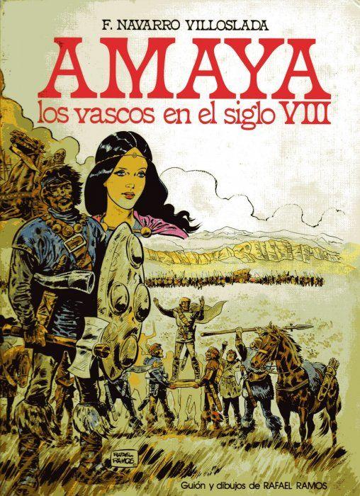 Amaya o los vascos en el siglo VIII Book Cover