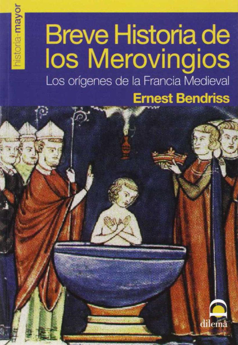 Breve historia de los merovingios Book Cover