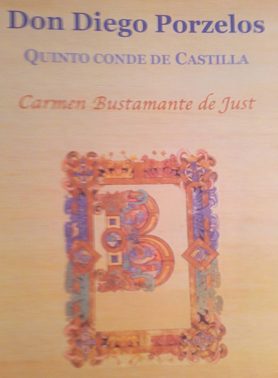Don Diego Porzelos. Quinto conde de Castilla Book Cover