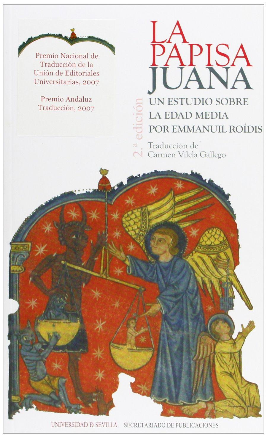 La papisa Juana.: Un estudio sobre la edad media Book Cover