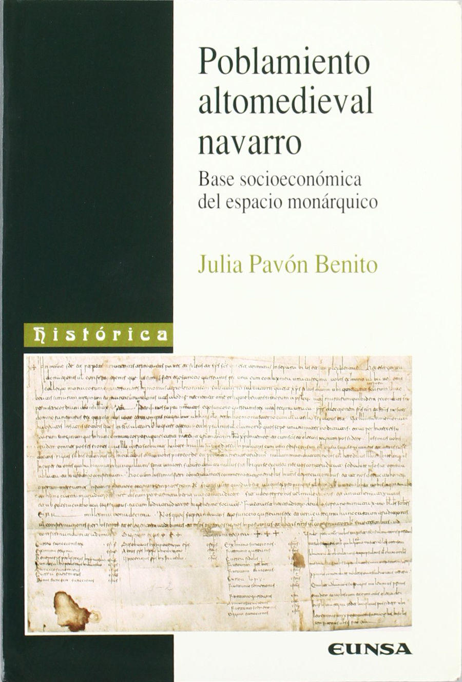 Poblamiento altomedieval navarro Book Cover