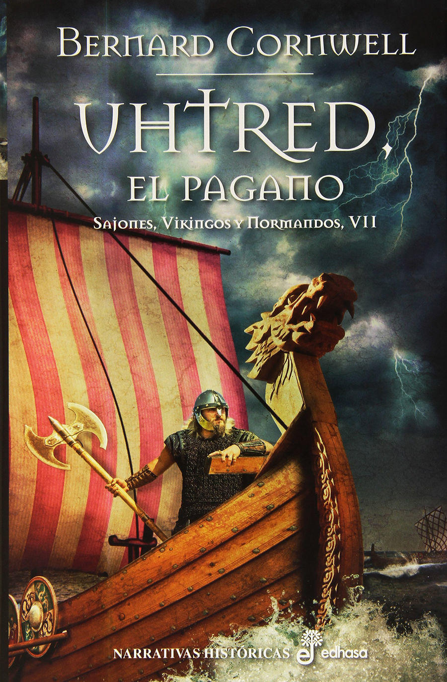 Uhtred, el pagano Book Cover